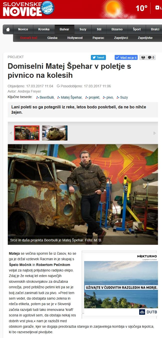 kliping-slovenske novice
